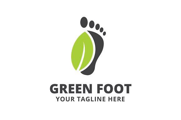 Green Foot Logo