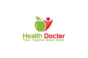 Health Docter Logo Template