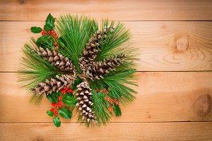 Christmas decoration composition