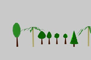 Tree Low Poly Pack