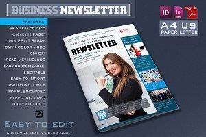 Business Newsletter Template