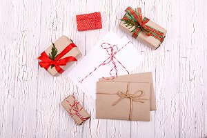 Beautiful christmas gift box