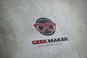 Geek Maker Logo Template