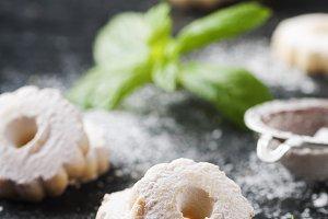 Homemade sweet cookies