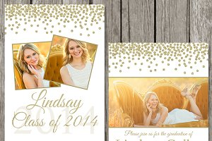 Graduation Announcement Template GA1
