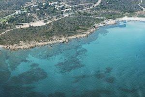 View of coast of San Teodoro