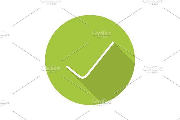 Tick icon. Vector - Icons