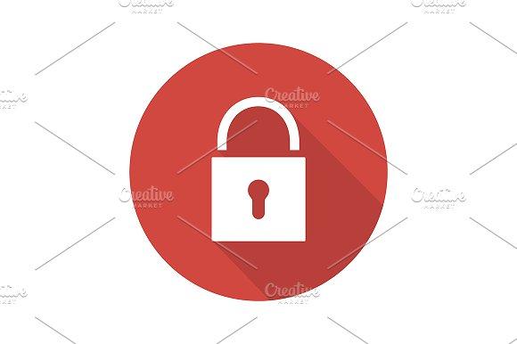 Lock icon. Vector in Graphics