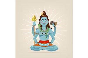 God Shiva character
