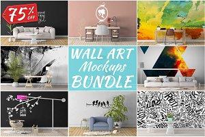 Wall Art Mockups BUNDLE V3