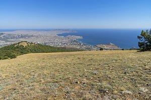 A view of the Crimean coast