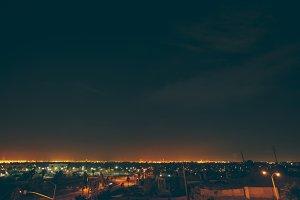 Long Beach CA at Night