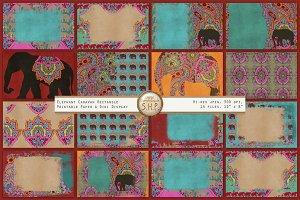 Elephant Caravans 2 Texture & Design