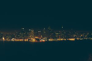 San Francisco Night Cityscape