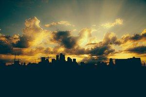 Minneapolis Skyline Silhouette