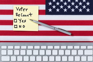 Recount Yes or No for USA Election