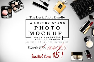 10 Luxury feminine Desktop Bundle
