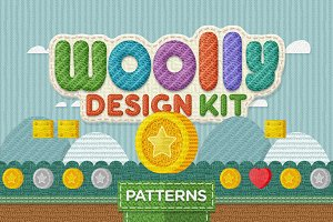 Woolly Design Kit - 65 Textures