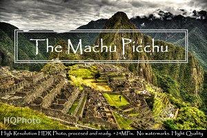 The Machu Picchu. HDR Landscape