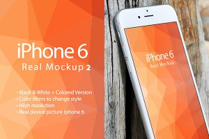 Mockup Iphone 6 Real Device Mockup 2