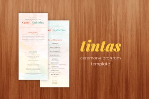 Tintas Wedding Ceremony Template