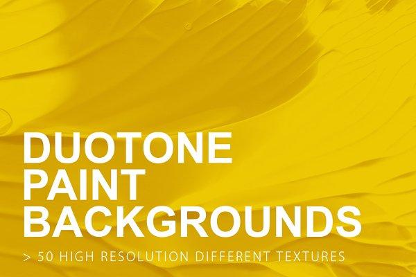 Duotone Paint Backgrounds