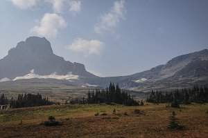 Mountain near Logan Pass, Montana