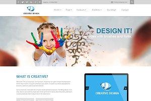Creative-Responsive Joomla Template