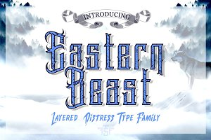 Eastern Beast Typeface