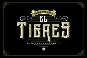 El Tigres Typeface