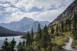 Lake Josephine, Montana, Glacier
