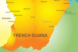 French Guiana country