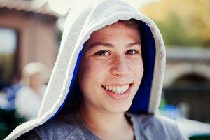 Teenager boy