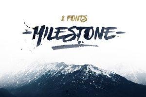 Milestone Fonts