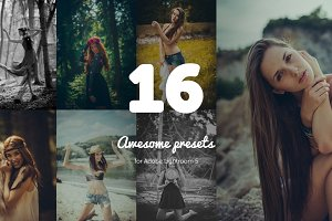16 Awesome Lightroom presets