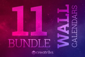 Wall Calendars  Bundle