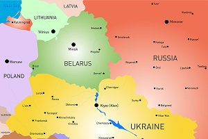 Belarus and Ukraine country