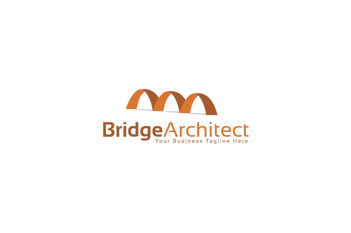 Bridge architect logo template logo templates creative for Architecture logo