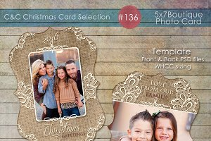 Christmas Photo Card Selection #136