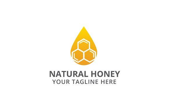 Natural Honey Logo Template