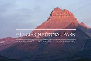 Glacier National Park Photo Pack