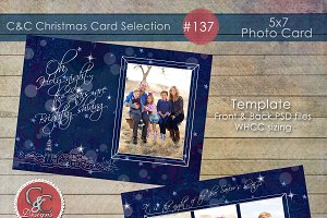 Christmas Photo Card Selection #137