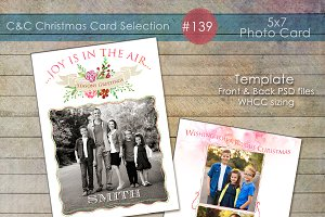 Christmas Photo Card Selection #139