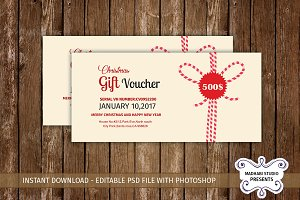 Multipurpose Gift Voucher Template