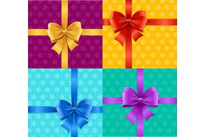 Present Card Background