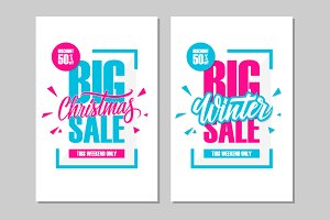 Big Christmas Sale. Big Winter Sale.