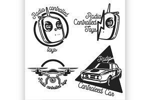 radio controlled toys emblems