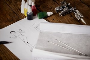 Sketch and tattoo tools