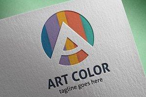 Art Color (Letter A) Logo