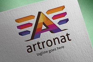 Artronat (Letter A) Logo